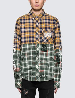Billionaire Boys Club Headline Cut & Sew Check Shirt