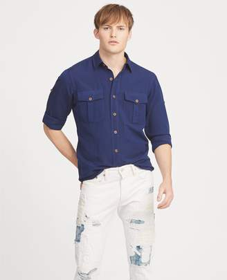Ralph Lauren Classic Fit Linen-Blend Shirt