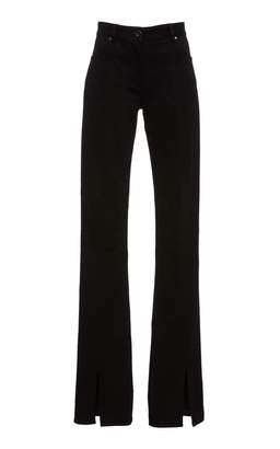 Laurèl Jeffrey Dodd Flared Front Slit Jean