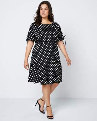 Penningtons Printed Fit & Flare Dress - In Every Story