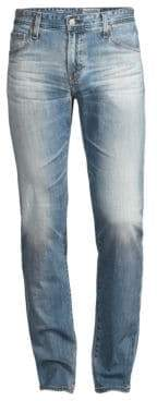 AG Jeans Tellis Slim-Fit Faded Whiskered Jeans
