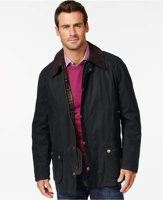 Barbour Men's Ashby Wax Jacket $399 thestylecure.com