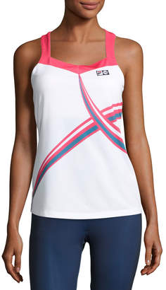 Fila MB Court Central Tank Top $75 thestylecure.com