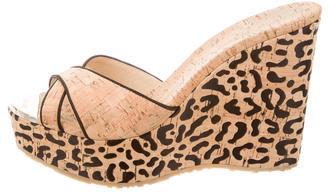 Jimmy ChooJimmy Choo Cork Wedge Sandals