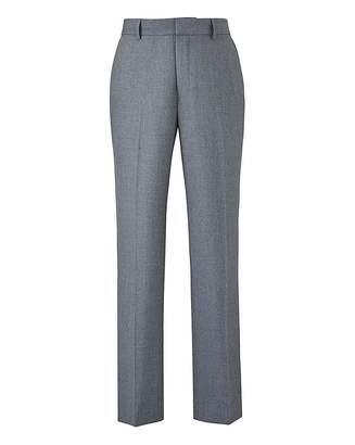 W&B London Plain Front Slim Fit Trousers