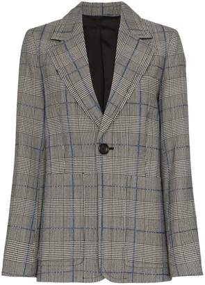 Joseph annab textured check wool jacket