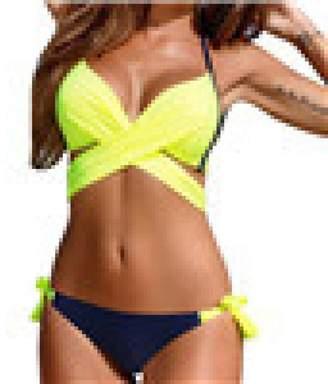 d84fec17bd TAORE Womens Bikini Push-up Padded Bra Womens Swimsuit 2 Piece Bathing  Suits Bikini Set