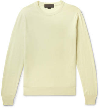 Stella McCartney Cashmere And Wool-blend Sweater - Yellow