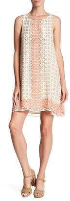 Max Studio Crepe Shift Dress