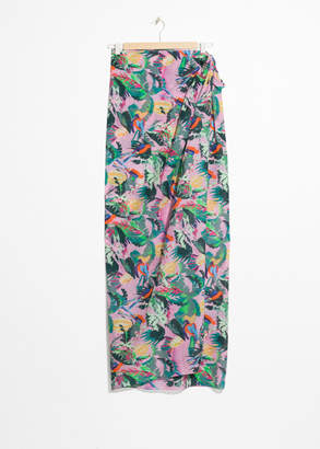 And other stories Tropical Print Sarong