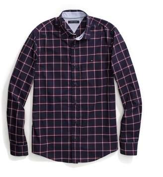 Tommy Hilfiger Custom Fit Windowpane Check Shirt
