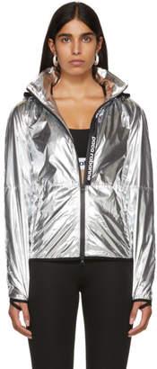 Paco Rabanne Silver Bodyline Windbreaker Jacket