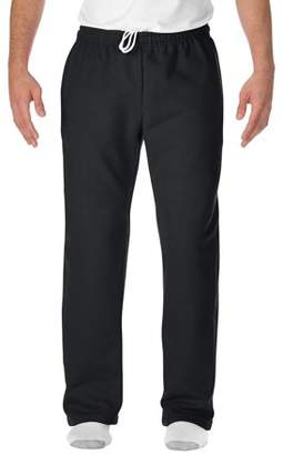 Gildan Mens DryBlend Open Bottom Pocketed Sweatpant