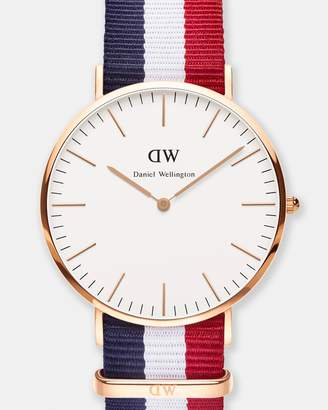 Daniel Wellington Classic Cambridge Rose Gold 40mm