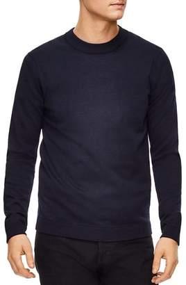 Sandro Merino Wool Crewneck Sweater