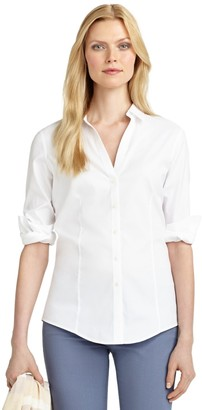 Brooks Brothers Petite Non-Iron Fitted Blouse