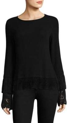 Bailey 44 Fairy God Mother Lace Layer Top