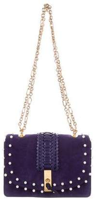 Altuzarra Embellished Suede Ghianda Shoulder Bag