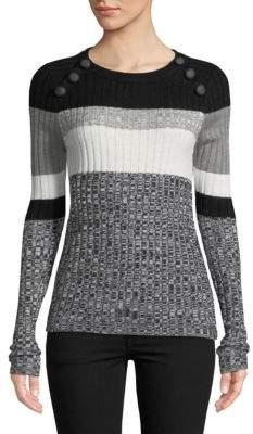 Ella Moss Stripe Roundneck Pullover