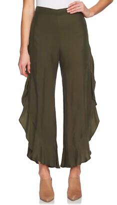 1 STATE 1.State Ruffle Wide Leg Pants