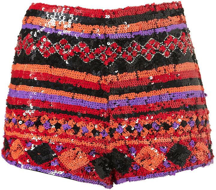 Calypso Embellished Shorts