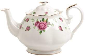 Royal Albert New Country Roses White Vintage Teapot