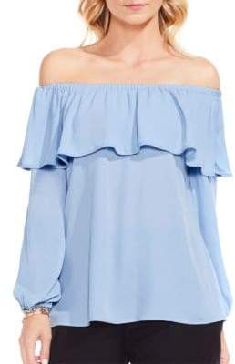Vince Camuto Ruffled Off-the-Shoulder Blouse