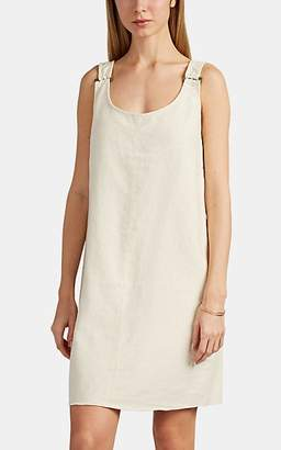 Leo & Sage WOMEN'S LINEN-COTTON SHIFT DRESS - BEIGE/TAN SIZE M