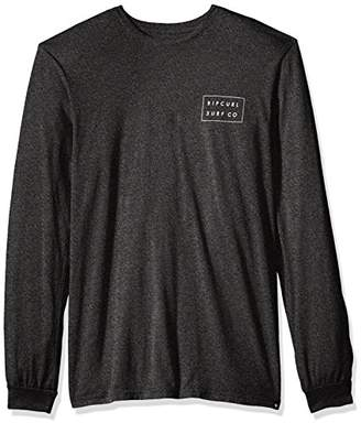 Rip Curl Men's Convertible Mock Twist Ls Tee