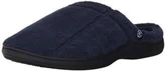 Isotoner Men's Microterry Ergo Hoodback Slipper
