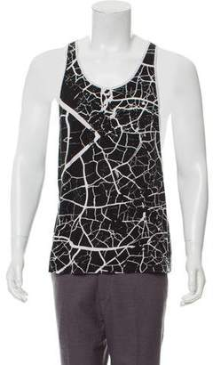Skingraft Abstract Print Tank