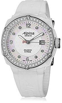 Alpina Extreme Lady Ceramic Mother of Pearl Diamonds Women's Watch AL-240MPWD3AEDC6