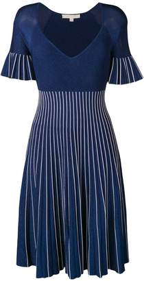 Jonathan Simkhai striped lurex knit dress