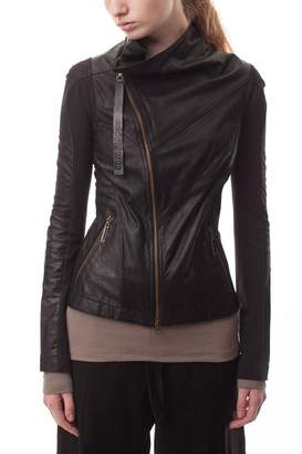 Cora Groppo coragroppo Black Leather Jacket