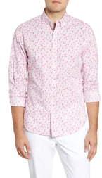 Bonobos Summerweight Slim Fit Floral Print Button-Down Shirt