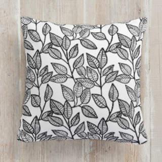 Autumn Leaves Square Pillow