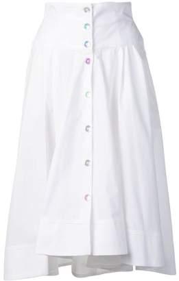 0227e3348a Pinko button-through midi skirt