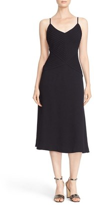 Tracy Reese Pintuck Slipdress $398 thestylecure.com