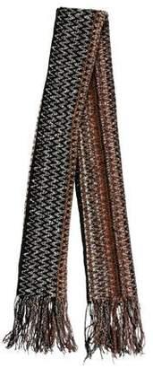 Missoni Knit Wool-Blend Scarf