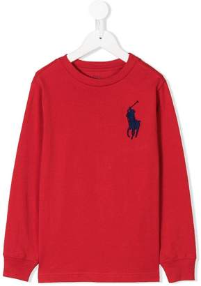 Ralph Lauren Kids Big Pony embroidered T-shirt