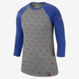 Nike New York Knicks Dri-FIT Women's 3/4-Sleeve NBA T-Shirt