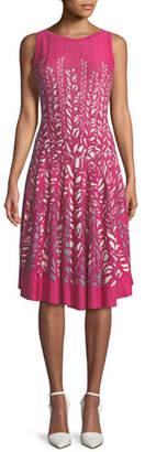 Nic+Zoe Tango Twirl Sleeveless Fit-and-Flare Dress, Petite