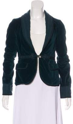 Marc by Marc Jacobs Velvet Evening Jacket