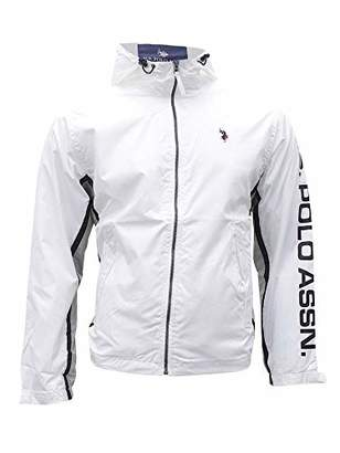 U.S. Polo Assn. Men's Tri Color Windbreaker Jacket