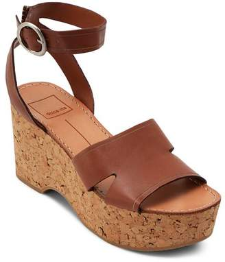 2b27ac2b01b Dolce Vita Women s Linda Leather   Cork Platform Sandals