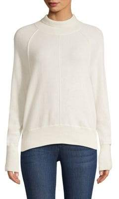 Vineyard Vines Seamed Cashmere Turtleneck