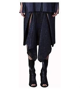 KITX Fold And Split Front Skirt