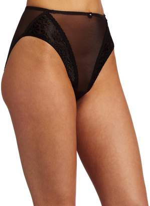 Carnival Womens High Cut Tux Stretch Bikini Panty