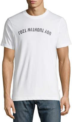 Wesc Men's Max Mirror Typgraphic T-Shirt