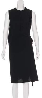 Rosetta Getty Sleeveless Midi Dress